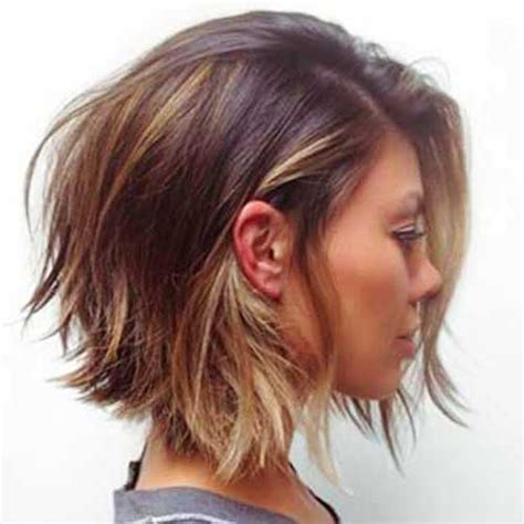 curly layered ear length hair styles womens short trendy hairstyles pictures gallery
