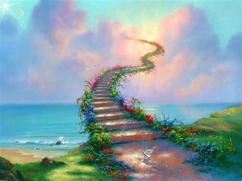 stairway to heaven wallpaper wallmaya com