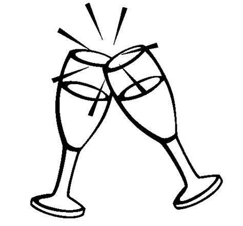 bicchieri da colorare bicchieri di spumante da colorare disegni gratis disegni