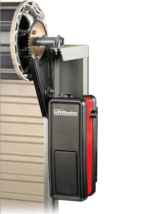 Rolling Garage Door Opener Liftmaster 3950 Light Duty Commercial Jackshaft Operator For Roll Up Doors