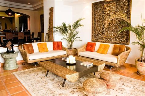 home design rajasthani style traditional indian living room with oriental rattan chairs
