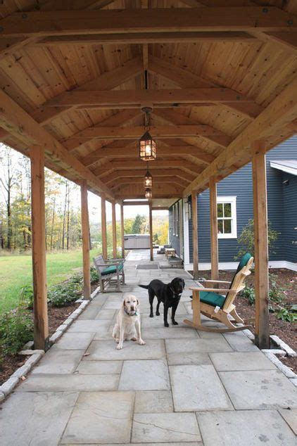 covered garage covered walkway between detached garage guesthouse and