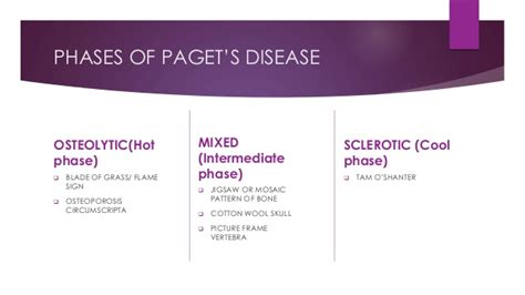 mosaic pattern in paget s disease signs in paget s disease