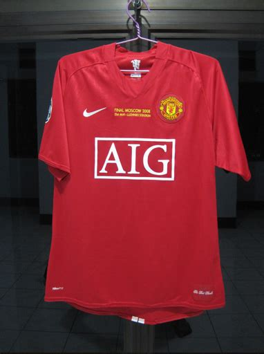 Jersey Manchester United Moscow 2007 harga jersey retro manchester united home 2006 2007