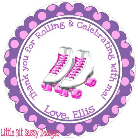 Personalized Roller Skate Stickers