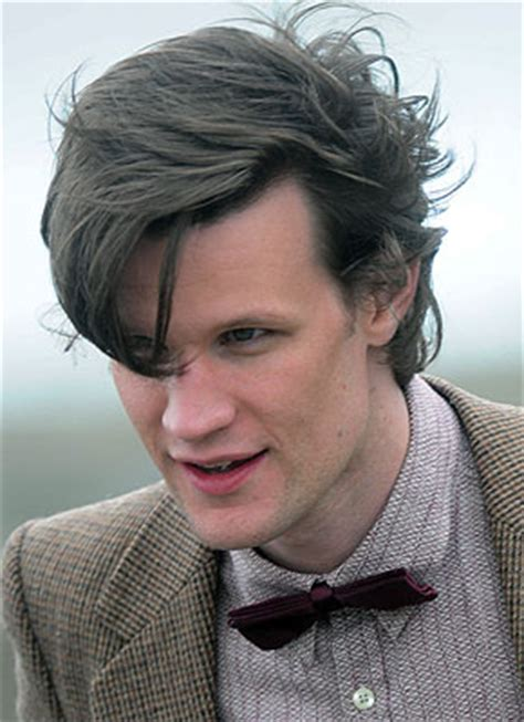11th doctor female hair style matt smith floppy hair will be back for his final doctor
