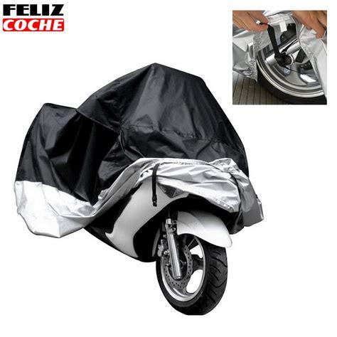 Sarung Penutup Motor Bahan Parasut cover sarung pelindung motor size black