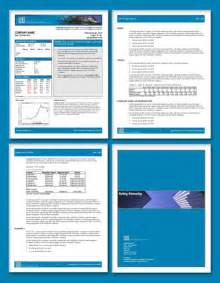 report design template free business template