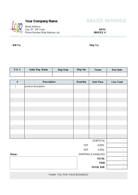 numbers invoice template invoice template numbers free excel templates