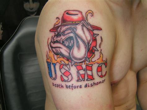usmc tattoo usmc tattoos