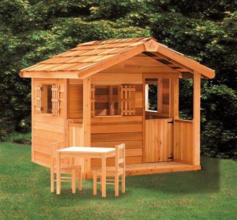 kids outdoor playhouse cedar playhouses  sale