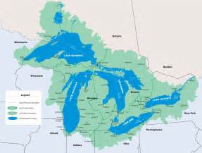 canada map great lakes map the dynamic great lakes