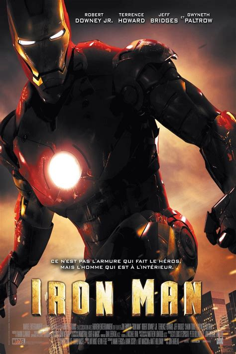 film marvel iron man iron man film 2008 senscritique