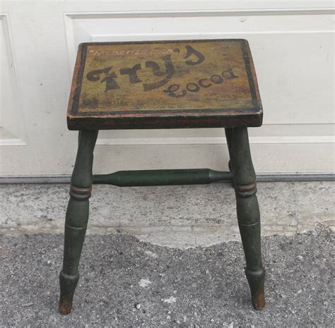advertising bench 19th century fry s cocoa advertising bench in original