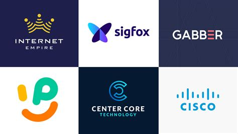 best design inspiration 35 best and technology company logo designs for