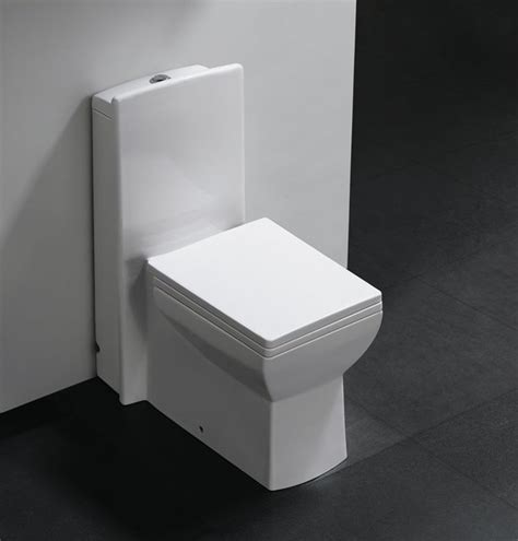 Modern Bathroom Toilets Pesaro One Dual Flush Modern Bathroom Toilet Modern Toilets Dallas By The