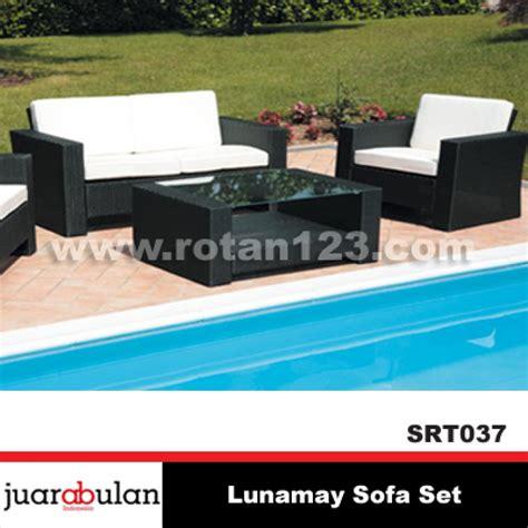 Sofa Bed Rotan sofa outdoor berbahan rotan sintetis