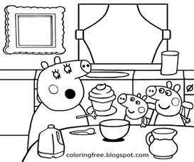 free coloring pages printable pictures color kids drawing ideas cartoon peppa pig printable