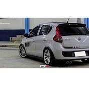 Fiat Palio Sporting Rebaixado Com Rodas Aro 17