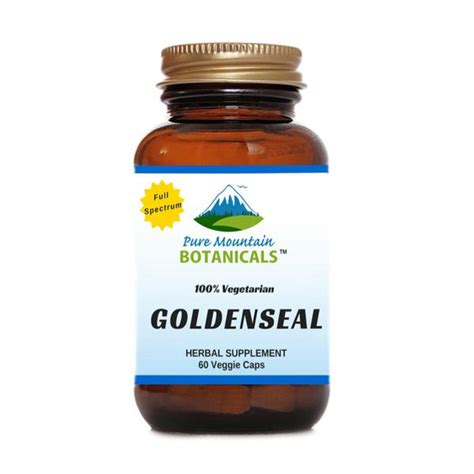 Goldenseal Root Extract Detox by Looking For The Best Organic Goldenseal Root Capsules