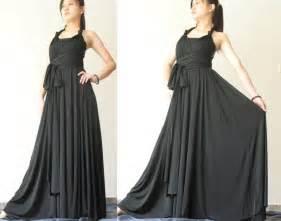 Infinity Wrap Dress Convertible Wrap Dress Black Infinity Dress Maxi Dress