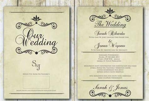 etika  undangan pernikahan weddingkucom