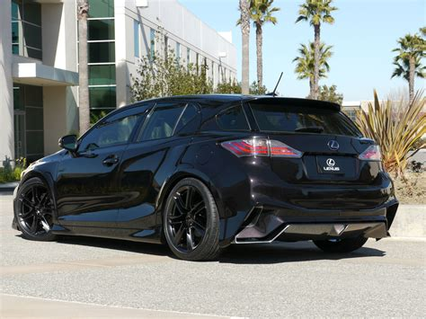 lexus ct200 custom lexus tuning widebody ct 200h project ct by five axis