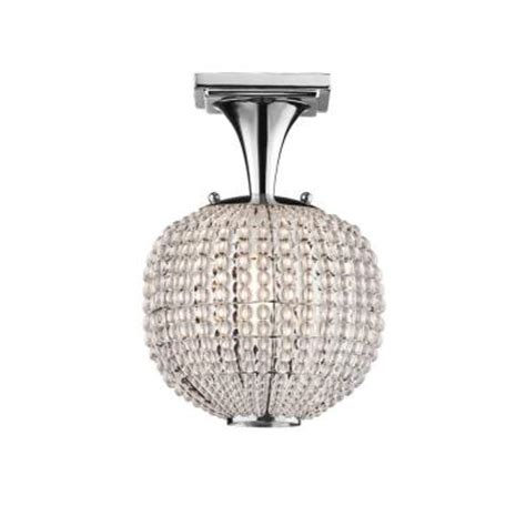hton bay bellefont 1 light polished nickel