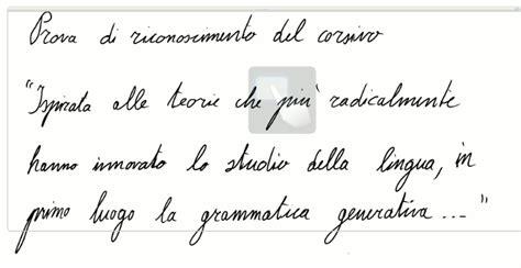 lettere in corsivo da stare linguaggio e scrittura statello e corsivo su tablet pc
