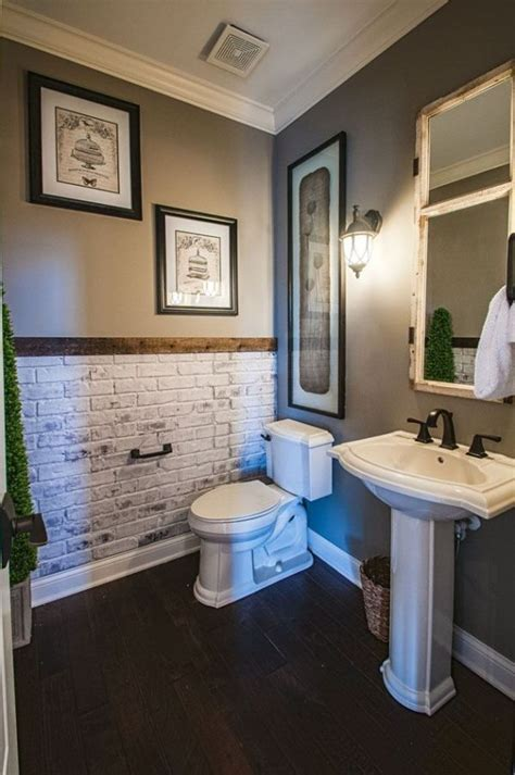 bathroom accent wall ideas  pinterest