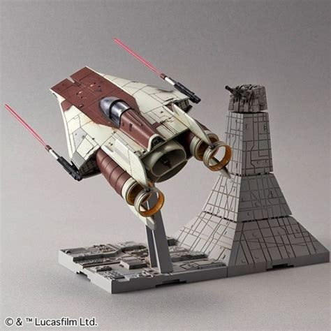 bandai wars 1 72 scale a wing starfighter model kit