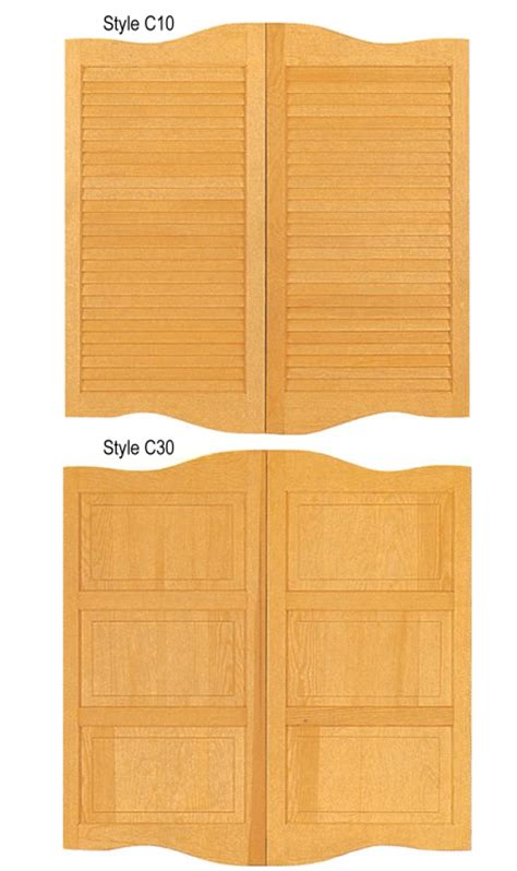 cafe style doors