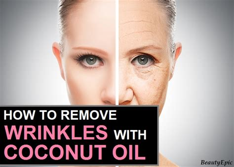 How to Remove Wrinkles Quickly with Coconut Oil