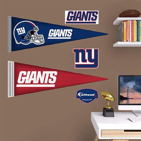 Junior Giants Sweepstakes - new york giants pennants fathead jr wall decal shop fathead 174 for new york giants