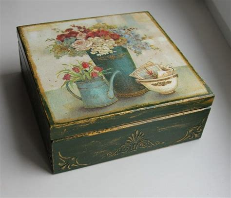 Decoupage Box Ideas - 25 unique decoupage box ideas on diy