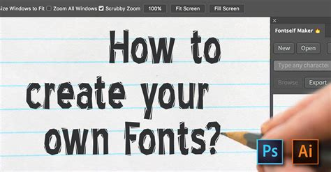 how to create your own fonts and edit truetype fonts how to create your own font xquissive free fonts