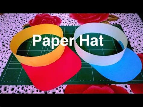 Origami Hats You Can Wear - how to make paper hats