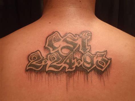 tatouage date de naissance preuve d amour