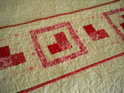 Patchwork Runner - patchwork table runner a quilting a quilt