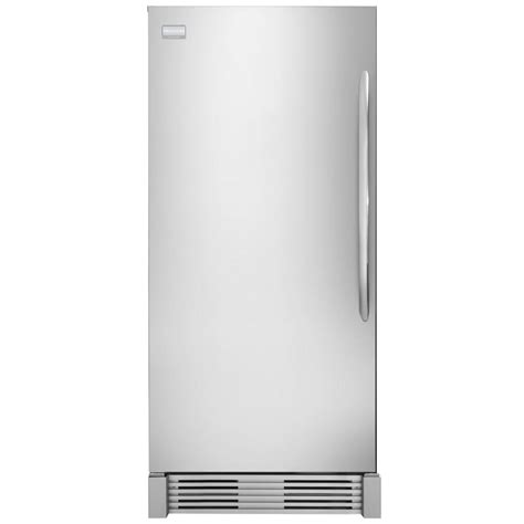 frigidaire gallery 18 6 cu ft upright freezer in
