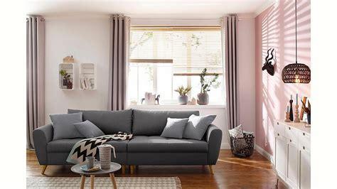 kissen skandinavisches design home affaire big sofa 187 penelope 171 feine steppung lose