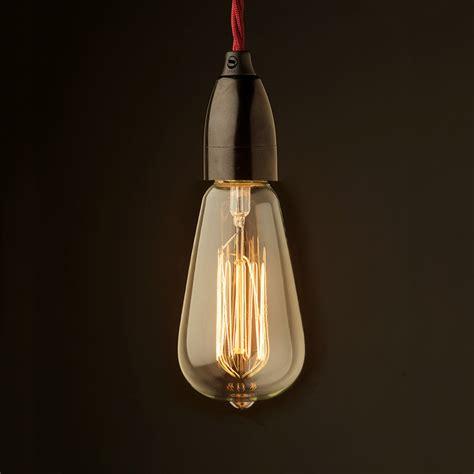 light bulb style edison style light bulb contemporary bakelite fitting