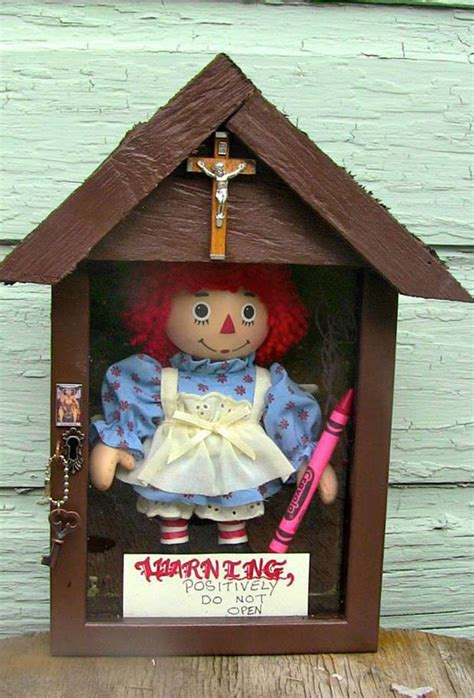 annabelle doll occult museum the doll that inspired horror annabelle kept at the