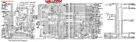 1979 corvette wiring diagram 1967 corvette wiring diagram
