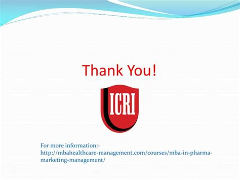 Mba In Pharmaceutical Marketing by Ppt Study Mba In Pharma Marketing Management For A