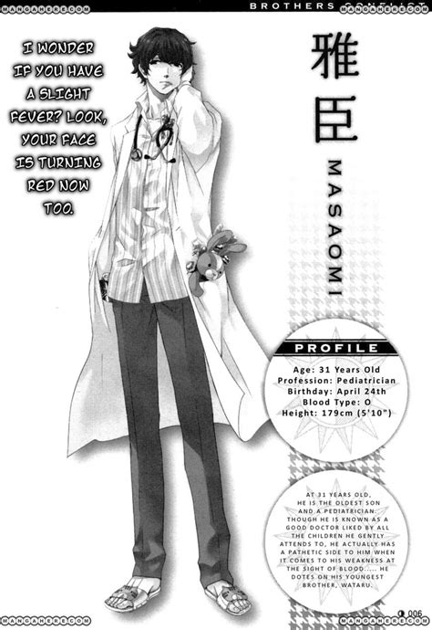 masaomi brothers conflict brothers conflict cast masaomi http www mangahere com