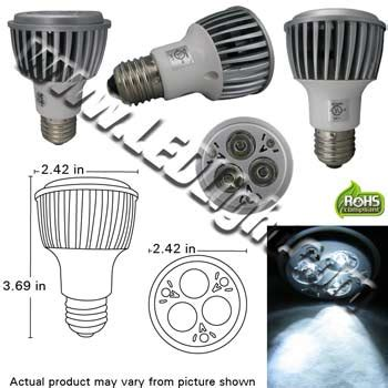 Led Cree 15 Watt High Low Diskon Par 20 3 By 3 Watt High Power Led Light Ul Household Led