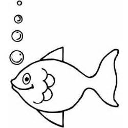Fish Making Bubbles Free Coloring Sheet sketch template