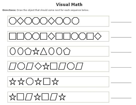 kindergarten pattern activities pinterest kindergarten math pattern worksheets kiduls printable