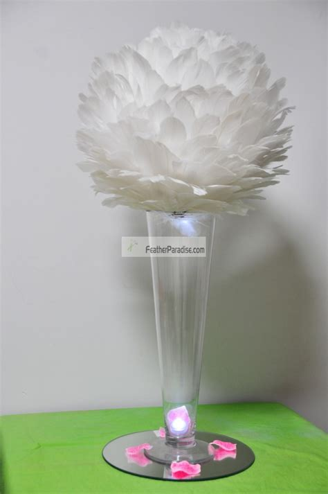 wholesale feathers for centerpieces 14 inches feather centerpieces large decorate balls wholesale bulk wedding cheap